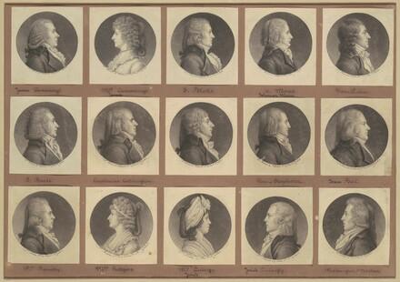 Saint-Mémin Collection of Portraits, Group 3