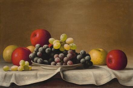 Still Life, Apples, Grapes