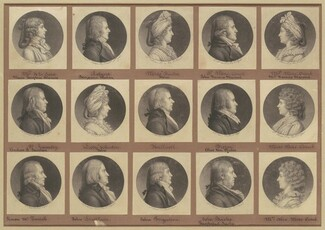 Saint-Mémin Collection of Portraits, Group 4