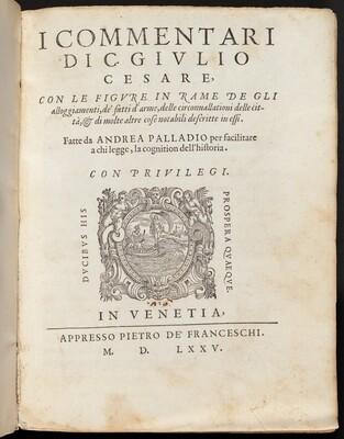 I Commentari di C. Giulio Cesare