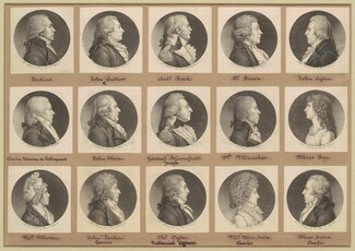 Saint-Mémin Collection of Portraits, Group 7