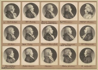 Saint-Mémin Collection of Portraits, Group 8
