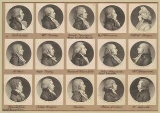 Saint-Mémin Collection of Portraits, Group 8