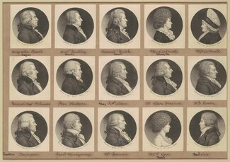 Saint-Mémin Collection of Portraits, Group 10