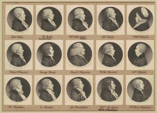 Saint-Mémin Collection of Portraits, Group 11