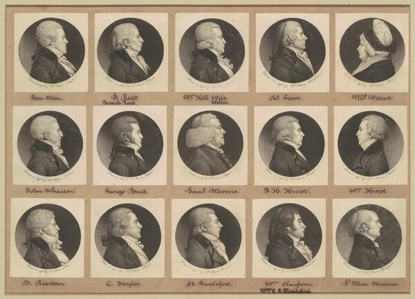 Saint-Mémin Collection of Portraits, Group 11