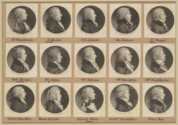 Saint-Mémin Collection of Portraits, Group 12