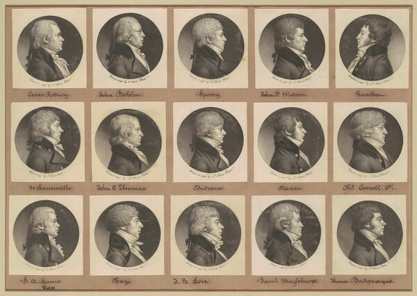 Saint-Mémin Collection of Portraits, Group 14