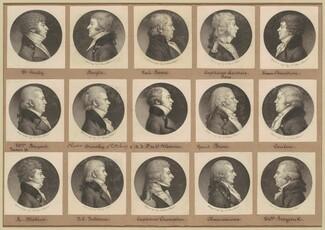 Saint-Mémin Collection of Portraits, Group 18