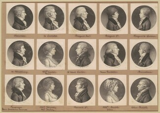 Saint-Mémin Collection of Portraits, Group 20
