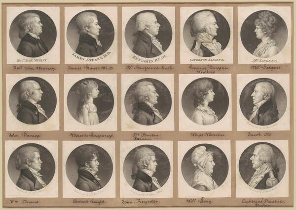 Saint-Mémin Collection of Portraits, Group 24