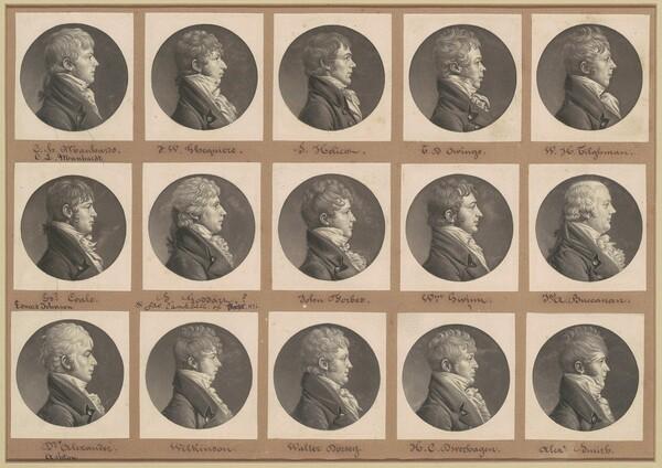 Saint-Mémin Collection of Portraits, Group 29