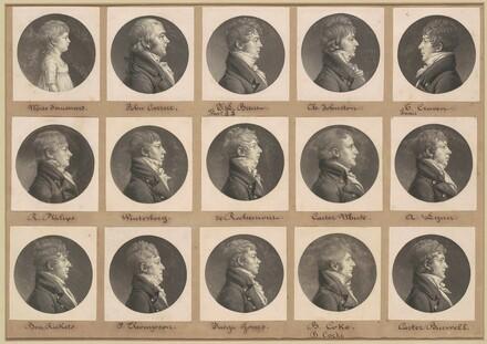 Saint-Mémin Collection of Portraits, Group 30
