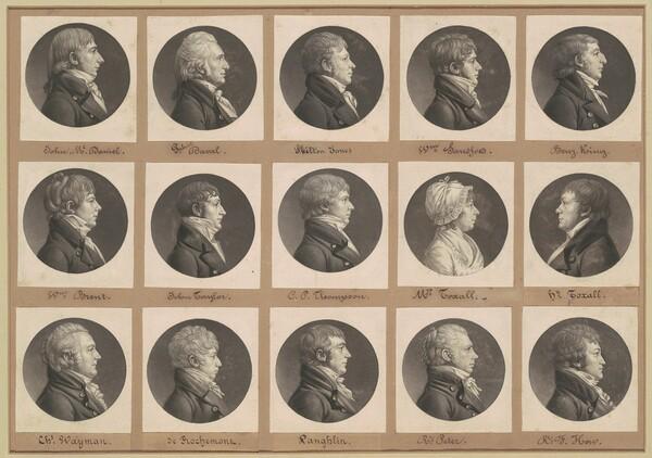 Saint-Mémin Collection of Portraits, Group 35