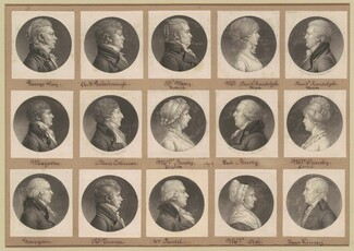 Saint-Mémin Collection of Portraits, Group 36