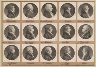 Saint-Mémin Collection of Portraits, Group 37