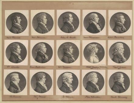 Saint-Mémin Collection of Portraits, Group 38