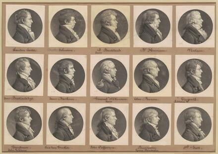 Saint-Mémin Collection of Portraits, Group 39