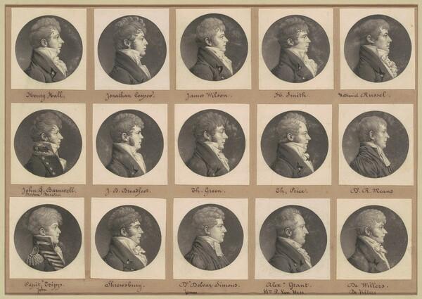 Saint-Mémin Collection of Portraits, Group 46