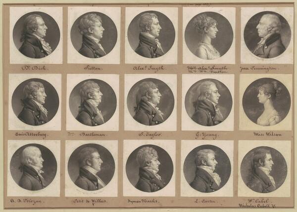 Saint-Mémin Collection of Portraits, Group 49