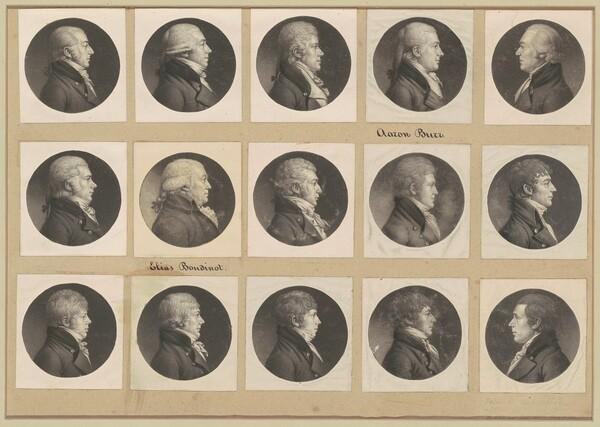 Saint-Mémin Collection of Portraits, Group 54