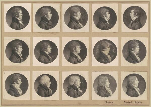 Saint-Mémin Collection of Portraits, Group 55