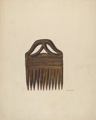 Comb (For Horses' Manes and Tails)