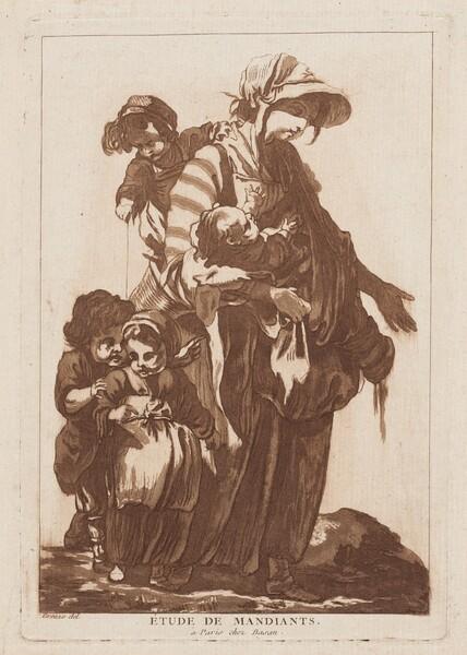 Étude de Mandiants (Study of Beggars)