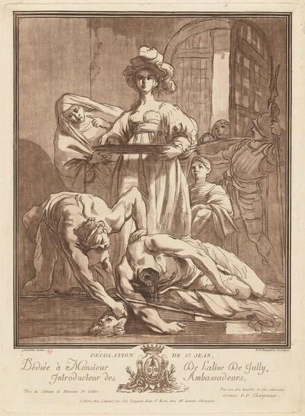 Décolation de St. Jean (Beheading of Saint John the Baptist)