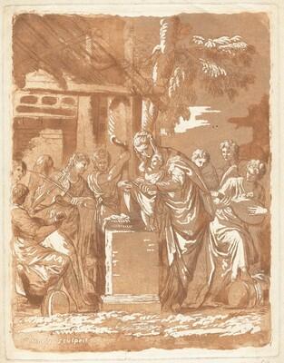 Concert des Anges autour de l'enfant Jesus (Concert of Angels around the Infant Jesus)