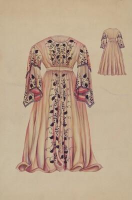 Silk Taffeta Costume
