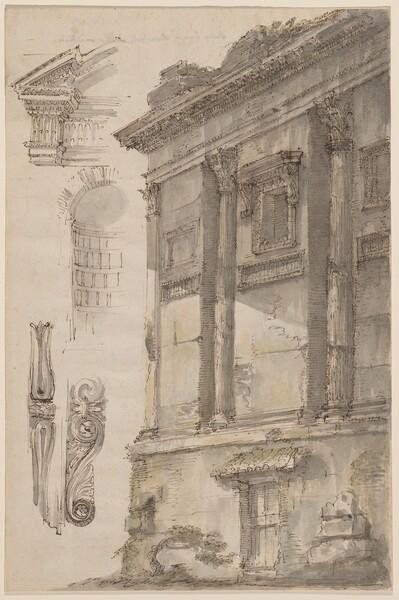 Studies of the Cenotaph of Annia Regilla