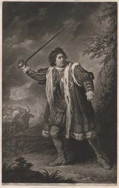 David Garrick in the Role of Richard III