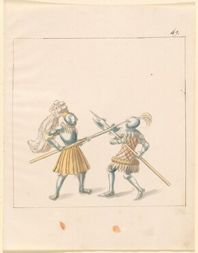 Freydal, The Book of Jousts and Tournament of Emperor Maximilian I: Combats on Foot (Jousts)(Volume III): Plate 146