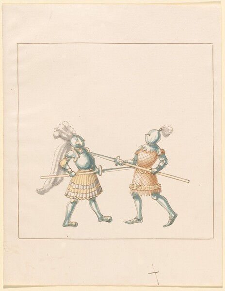 Freydal, The Book of Jousts and Tournament of Emperor Maximilian I: Combats on Foot (Jousts)(Volume III): Plate 148
