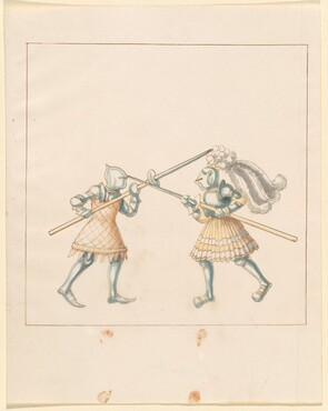 Freydal, The Book of Jousts and Tournament of Emperor Maximilian I: Combats on Foot (Jousts)(Volume III): Plate 149