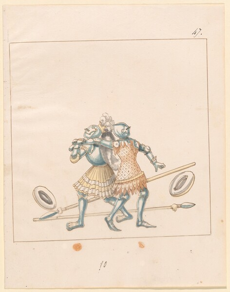 Freydal, The Book of Jousts and Tournament of Emperor Maximilian I: Combats on Foot (Jousts)(Volume III): Plate 152