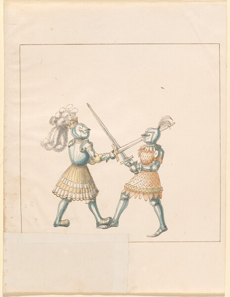 Freydal, The Book of Jousts and Tournament of Emperor Maximilian I: Combats on Foot (Jousts)(Volume III): Plate 158