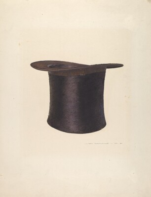 High Silk Hat