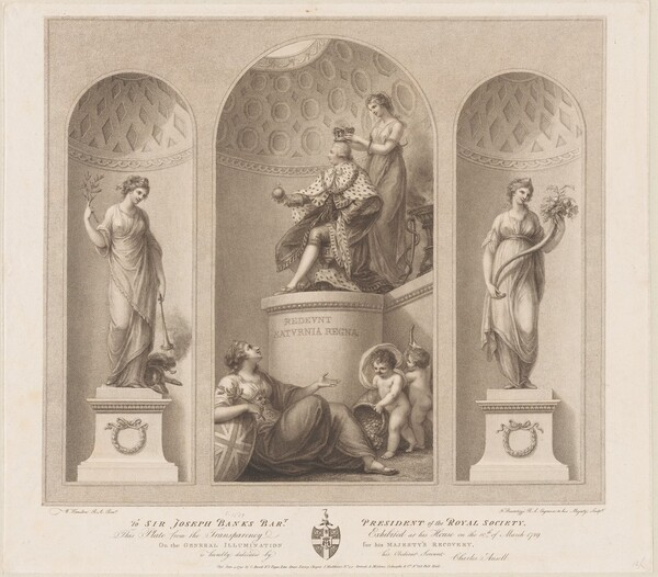 Allegory on the Recovery of the King