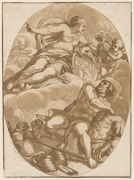 Venus Commanding Vulcan to Make Arms for Aeneas