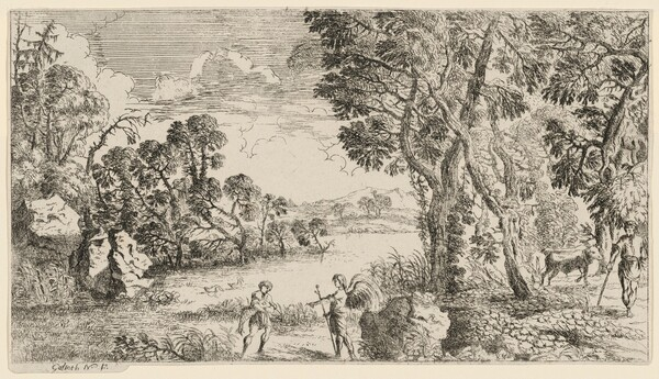 River Landscape with Tobias and the Angel