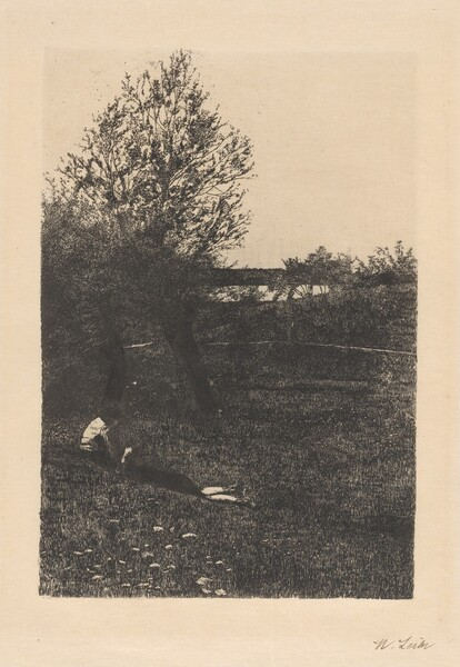 Landscape with Resting Children (La Dolce far niente)