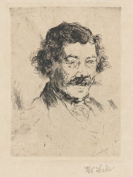 Portrait of the Painter Wopfner