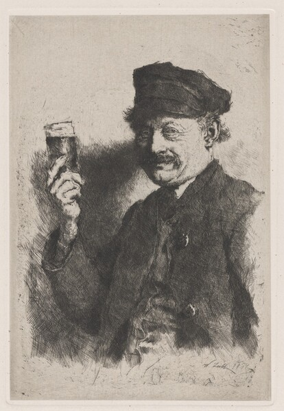 The Drinker (Portrait of Wirts Rauecker)