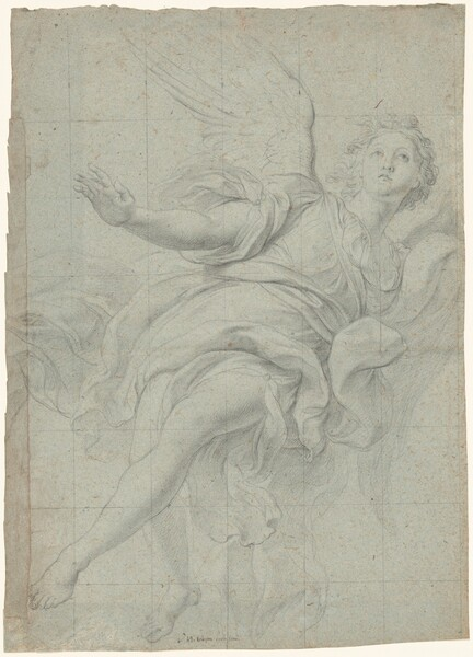 Study of an Angel for the Decoration of the Gesù