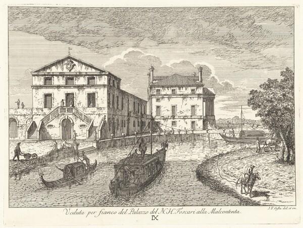 Villa Foscari Vista di Fianco