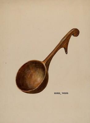 Wooden Dipper