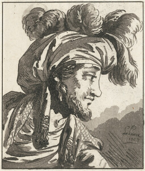 Head of a Turk without a Moustache