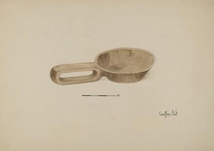 Oil Wood Ladle